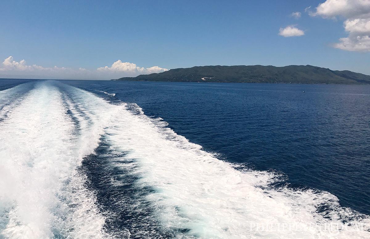 Vues en Ferry à Bohol