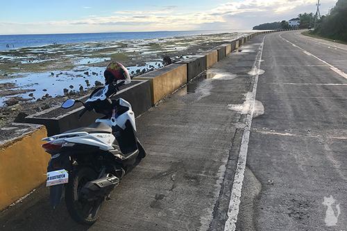 Motocycle à Bohol