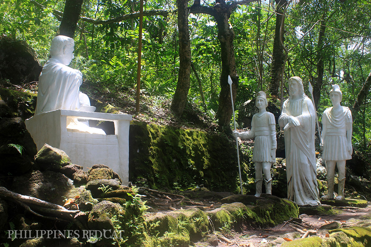 Camiguin stations de la croix