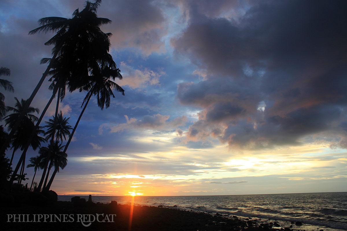 Camiguin coucher du soleil