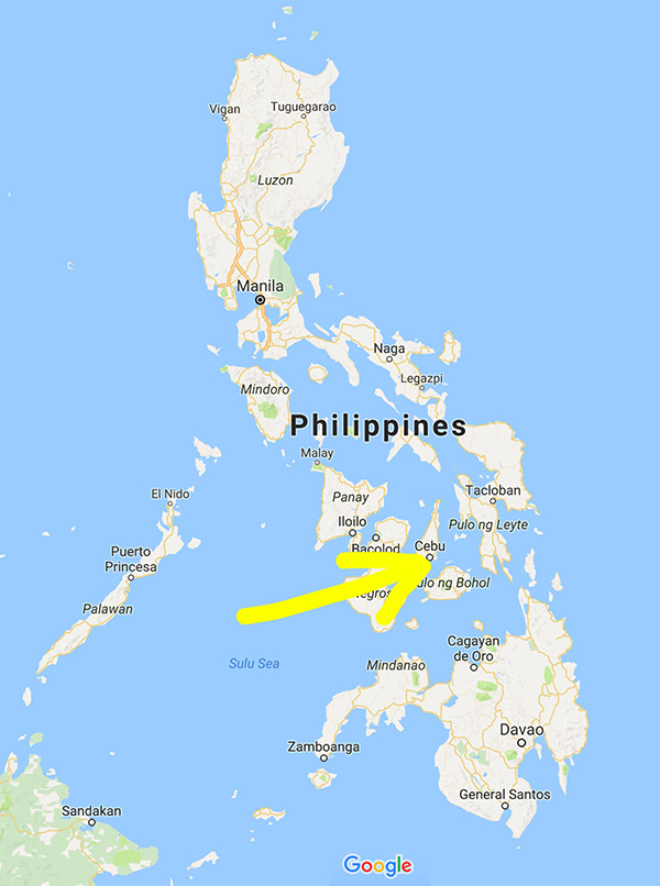 Cebu Location
