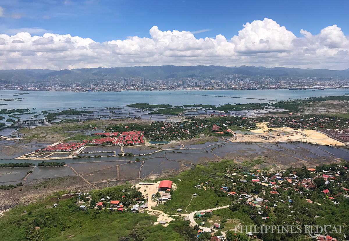 Cebu depuis le Haut