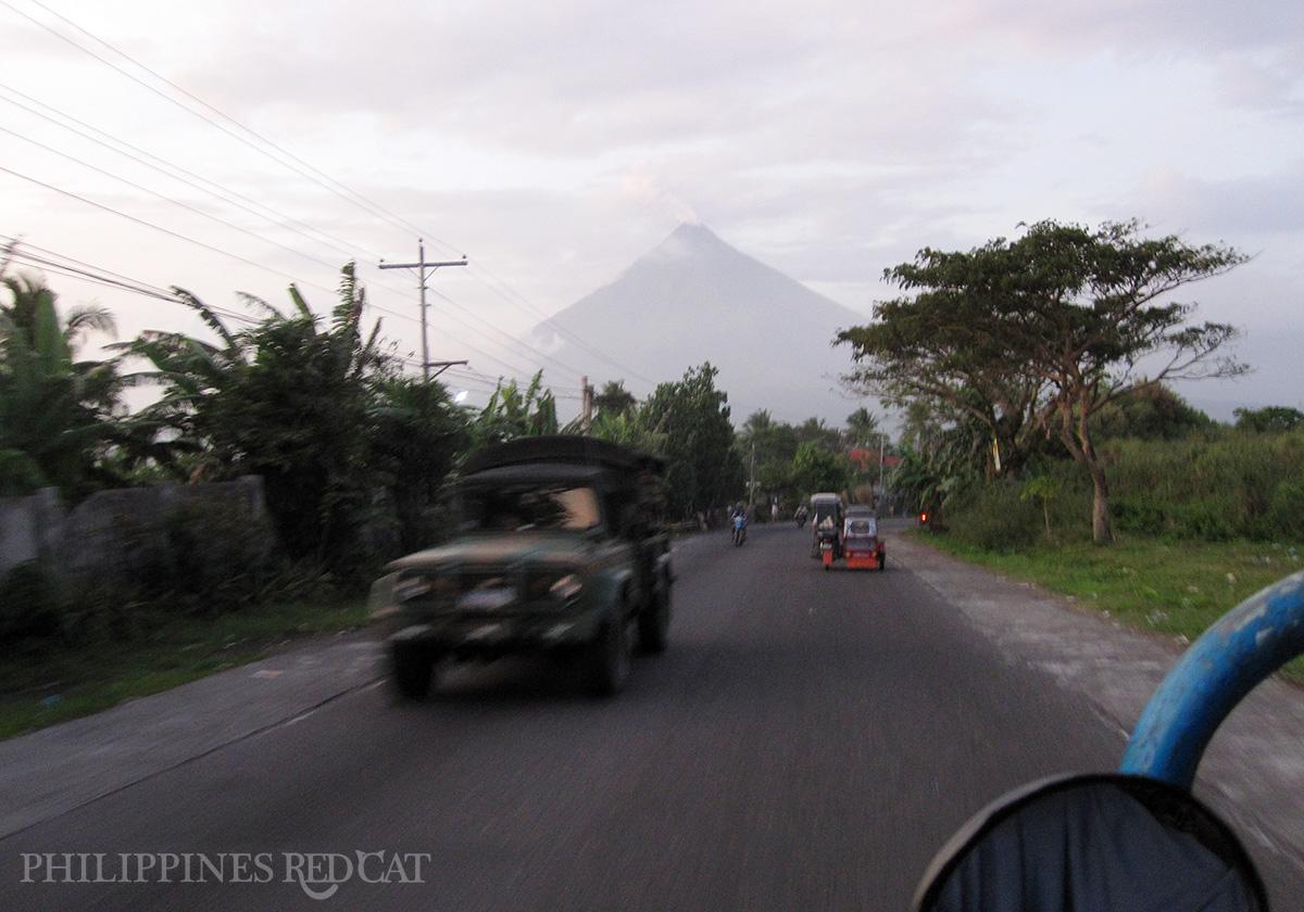 Donsol à Legazpi