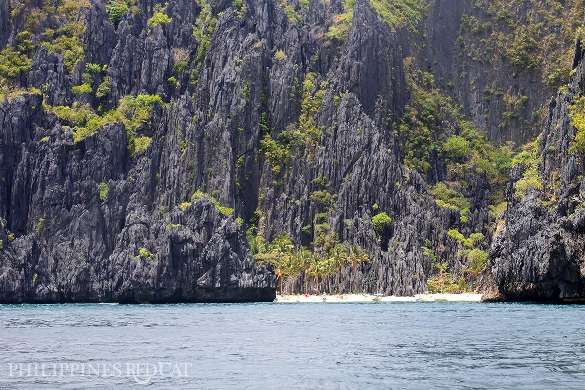 El Nido Limestone Cliff