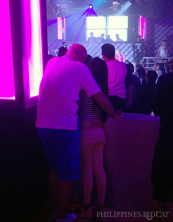 Girl in Subic Night Club