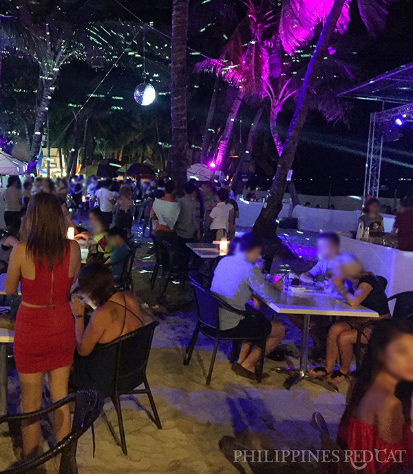 Girls in Boracay Night Club