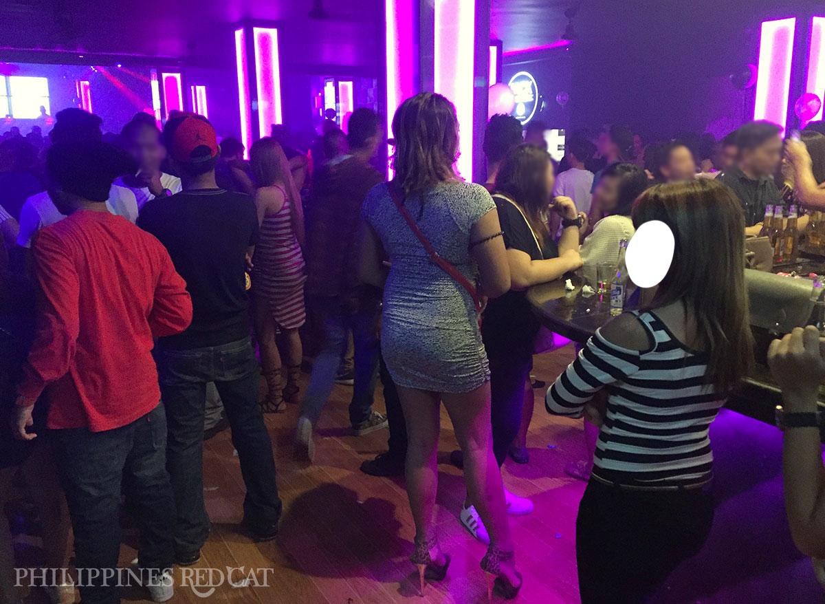 Ladyboys in Subic Night Club