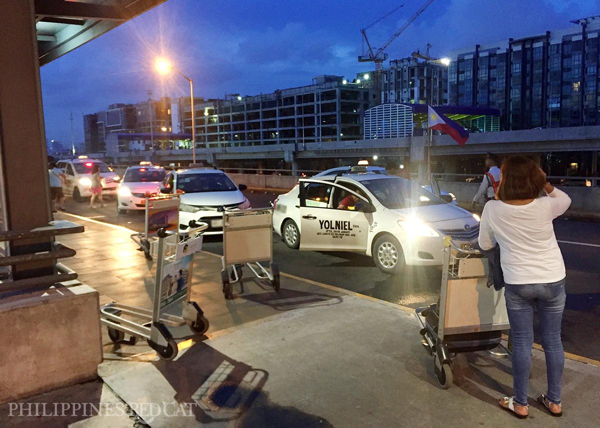 Manila Airport to City Center Taxi 2
