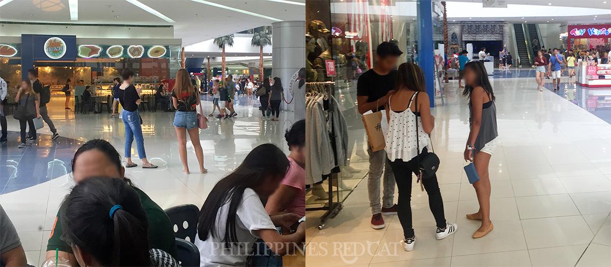Manila Girls in Mall
