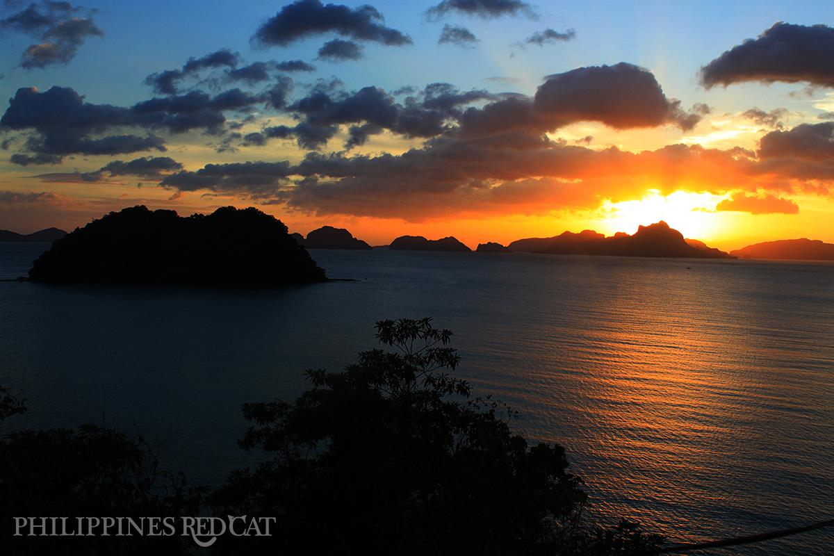 Coucher de Soleil de Palawan