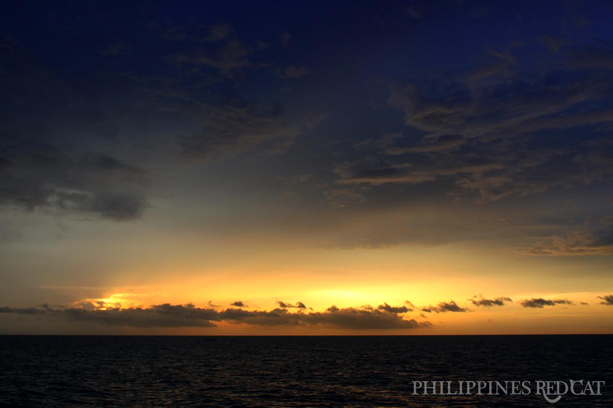 Coucher de Soleil aux Philippines