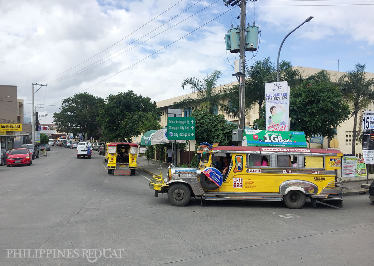 Yellow Jeepney in Olongapo